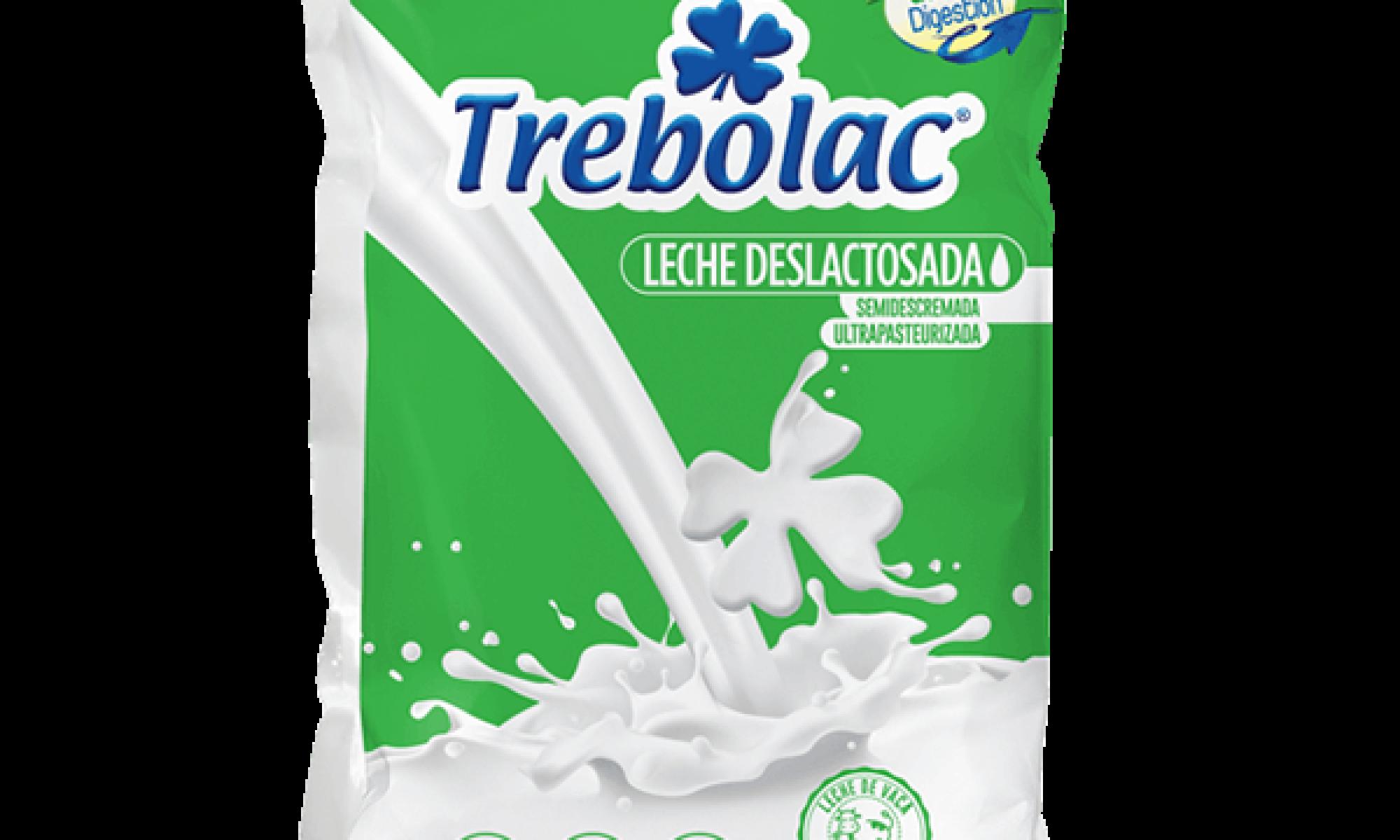 Leche Deslactosada UHT Trebolac 900ml