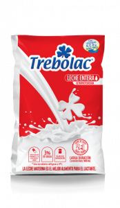 Leche Entera Trebolac UHT 900ml