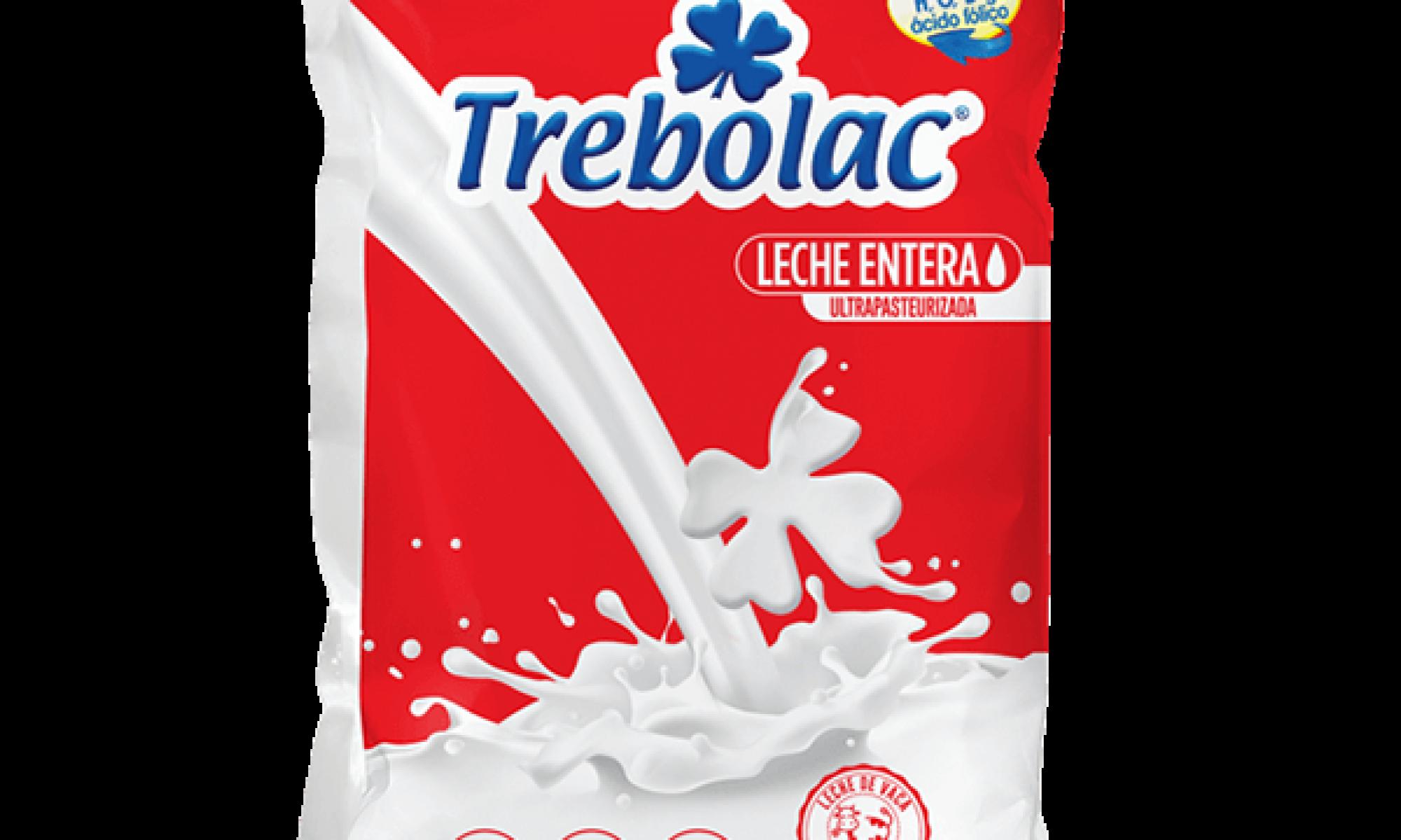 Leche Entera UHT Trebolac 900ml