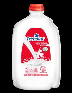 Leche Entera Trebolac Pasteurizada 3785ml