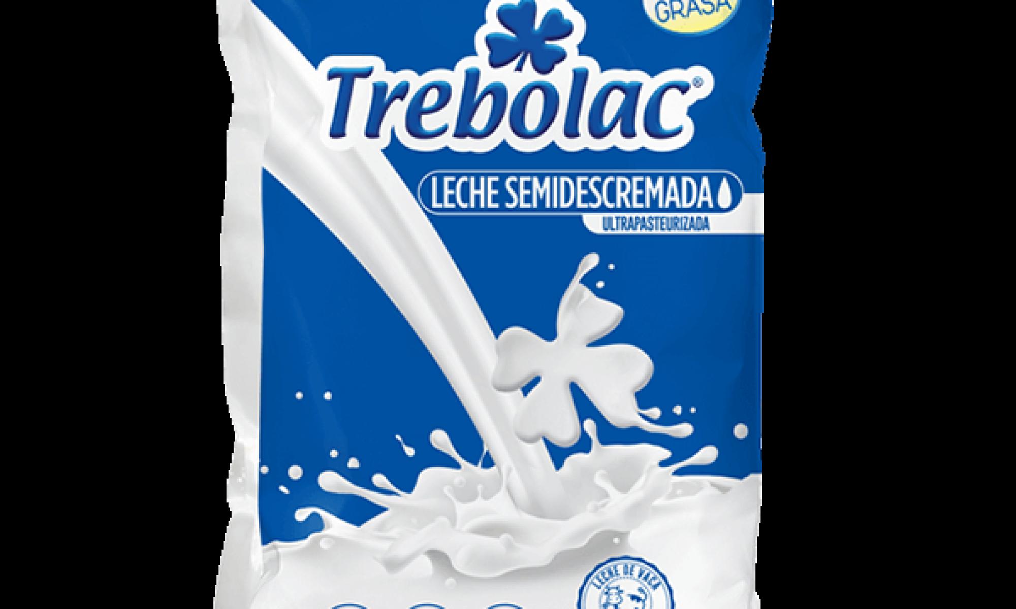 Leche SemiDescremada UHT Trebolac 900ml