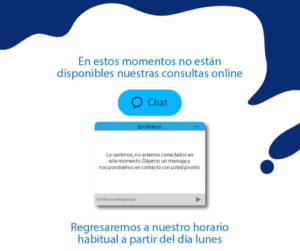Pop Up Chat Bienestar Trebolac Fines de semana
