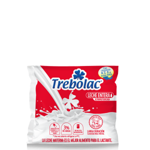 Leche Entera UHT Trebolac 450ml