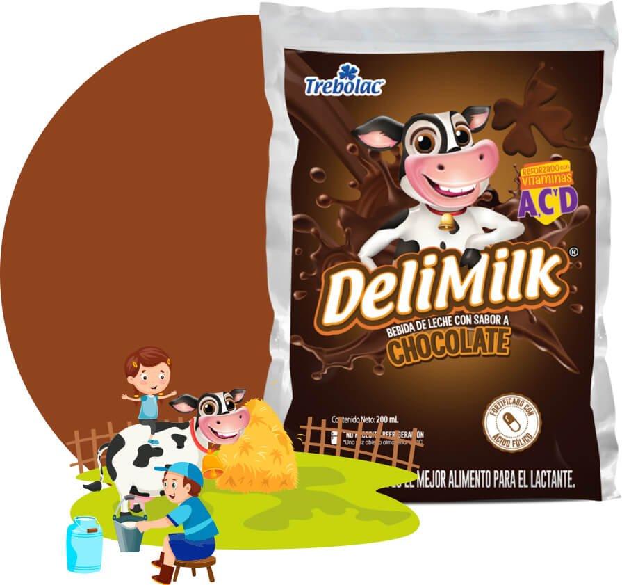 Delimilk Chocolate Trebolac