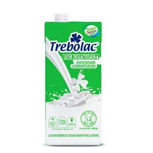 Trebolac leche Deslactosada tetra pak
