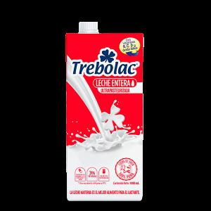 Trebolac leche Entera tetra pak