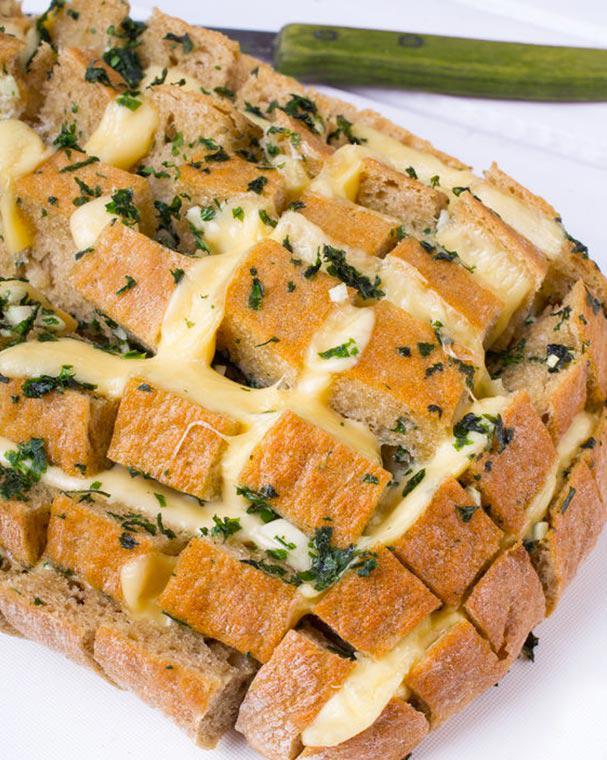 Trebolac receta de pan relleno