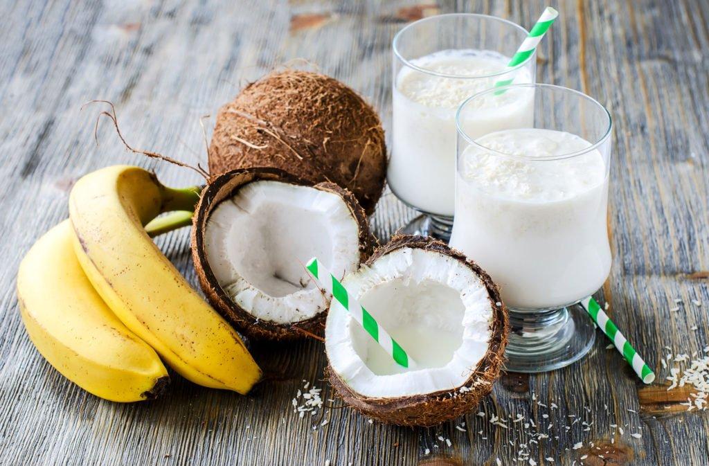 Trebolac recetas bebidas batido de coco
