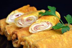Rollitos de Jamón y Queso Mozzarella Trebolac