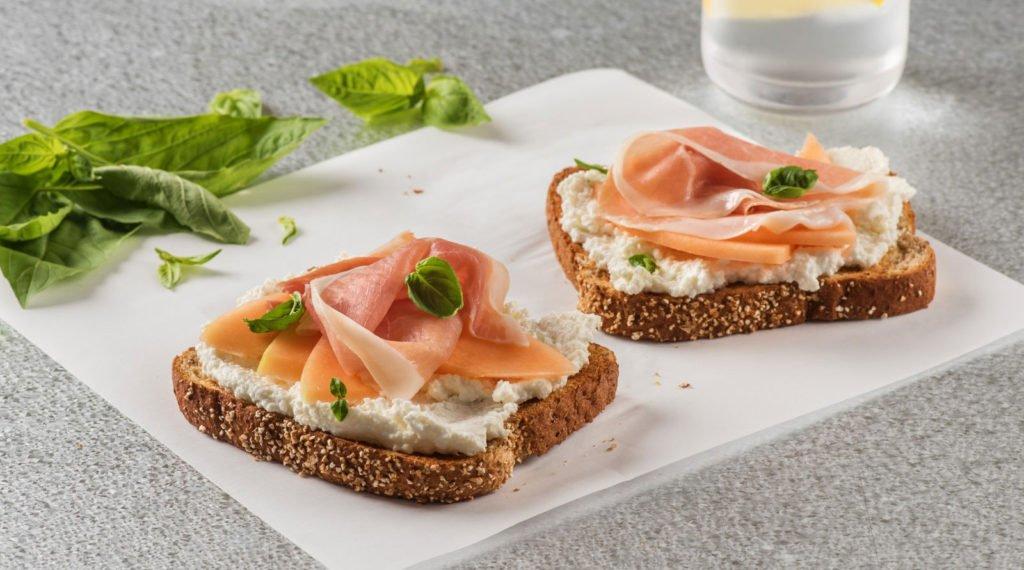 Sandwich de Queso Ricotta Trebolac