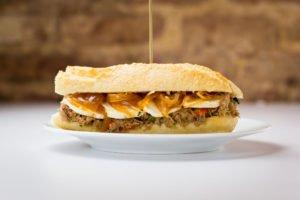 3 Sandwiches con Sabor a Guate