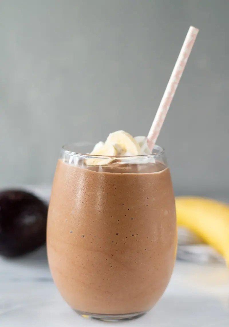 Smoothie de Chocolate y aguacate