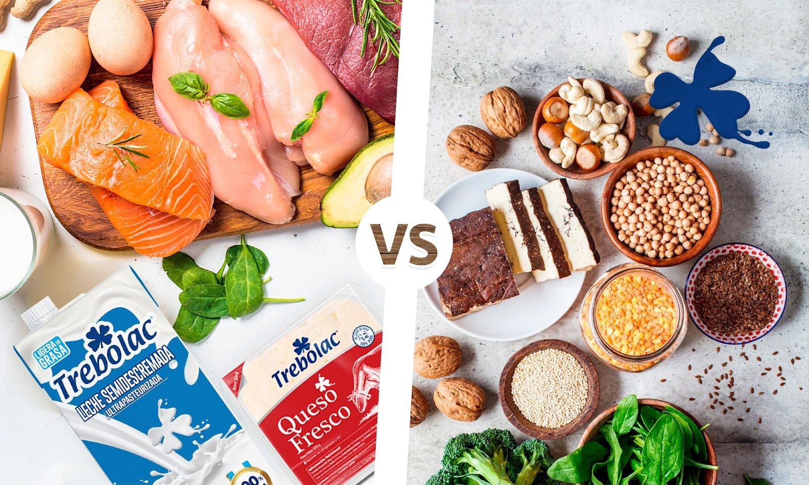 Beneficios de la proteína animal vrs la proteína vegetal.