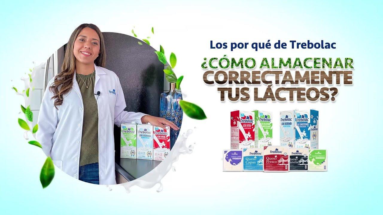 ¿Cómo almacenar correctamente tus lácteos?