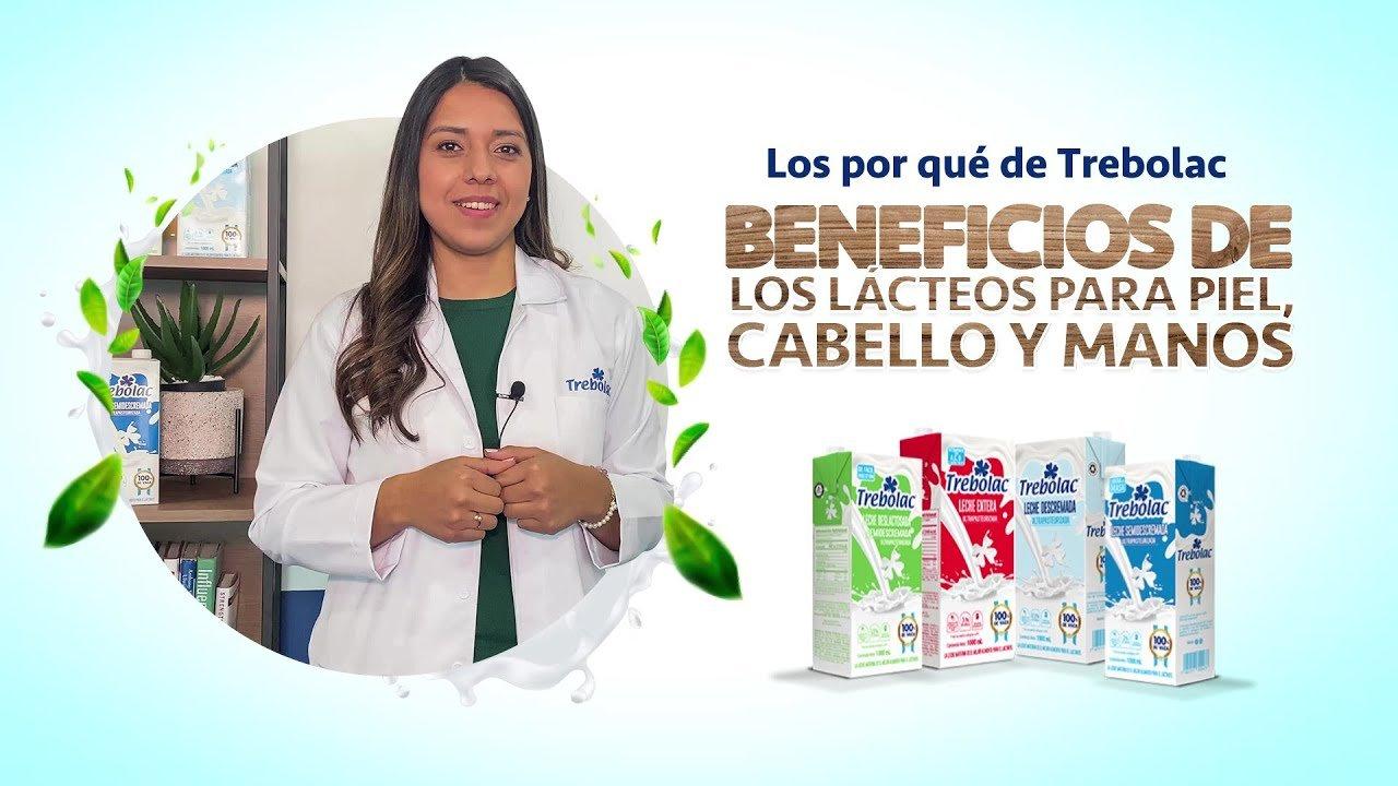 Beneficios de los lácteos para piel, cabello y manos