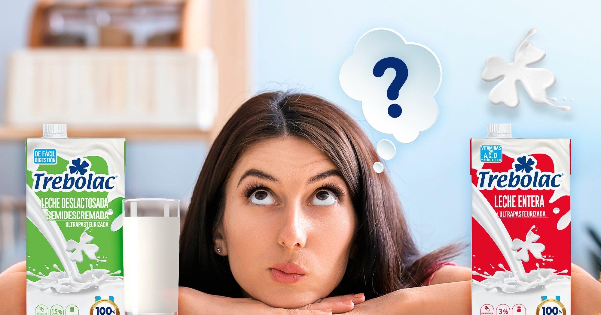 ¿Si no eres intolerante a la lactosa es bueno tomar leche deslactosada?